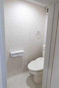 エレガントな雰囲気なトイレ