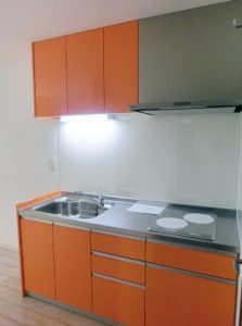 W1800以上の幅広システムキッチン