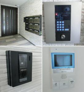 共用玄関オートロック 装備