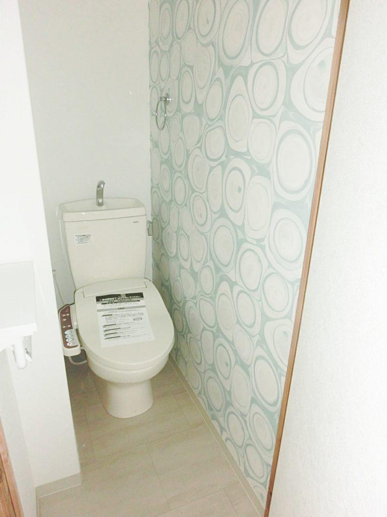 モダンな雰囲気のトイレ
