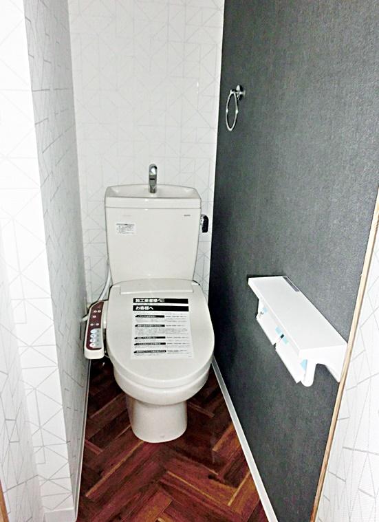 ヴィンテージ風トイレ