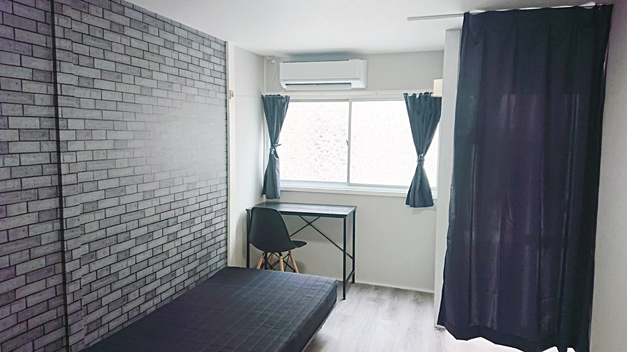 全室内装デザインが異なります。106号室