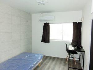 全室内装デザインが異なります。202号室