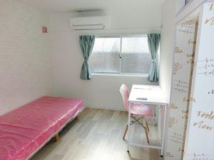 全室内装デザインが異なります。206号室
