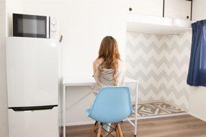 家具家電も付いてこのお部屋は毎月31,000円