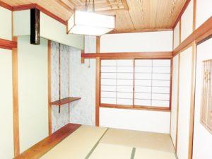 2階和室模様替え