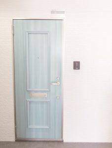 ドアがかわいい
