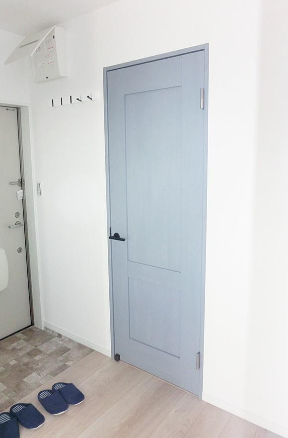 部屋ごとに違うドア