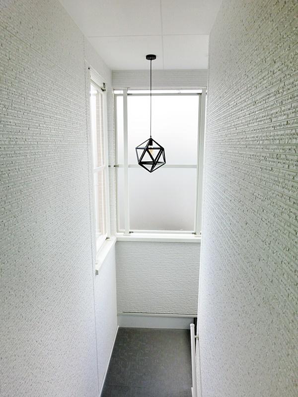 廊下の照明も素敵です